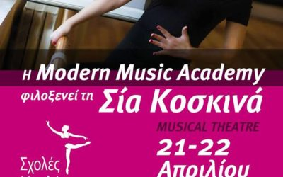 Musical Theatre masterclass by Sia Koskina
